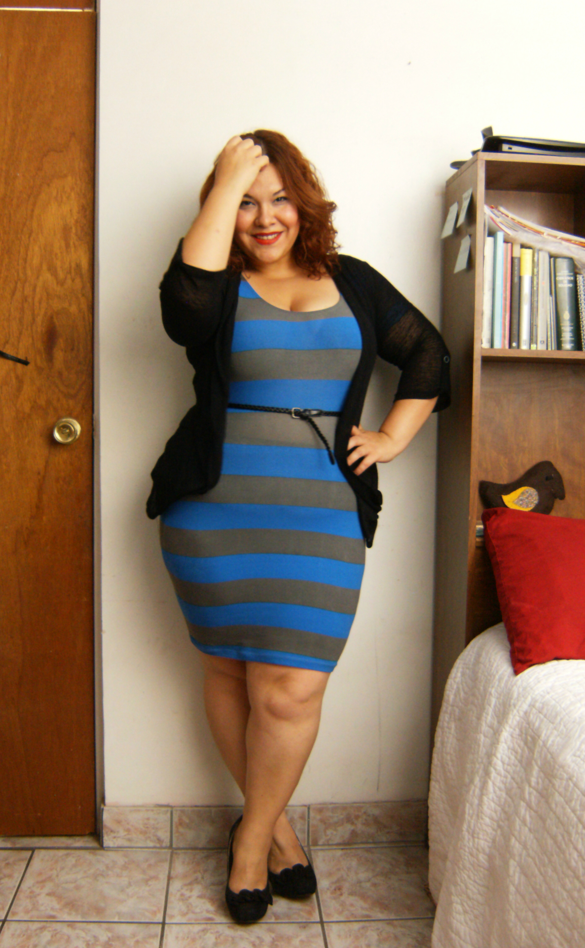 Thick girl tight dress