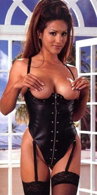 Leeann tweeden lingerie thong