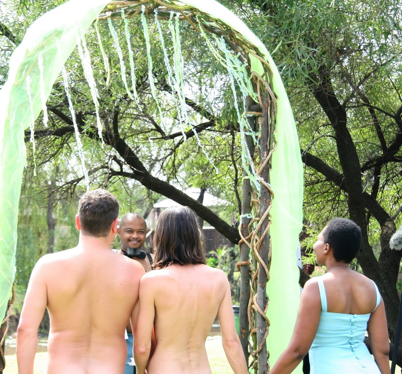 Southern african naked nudist