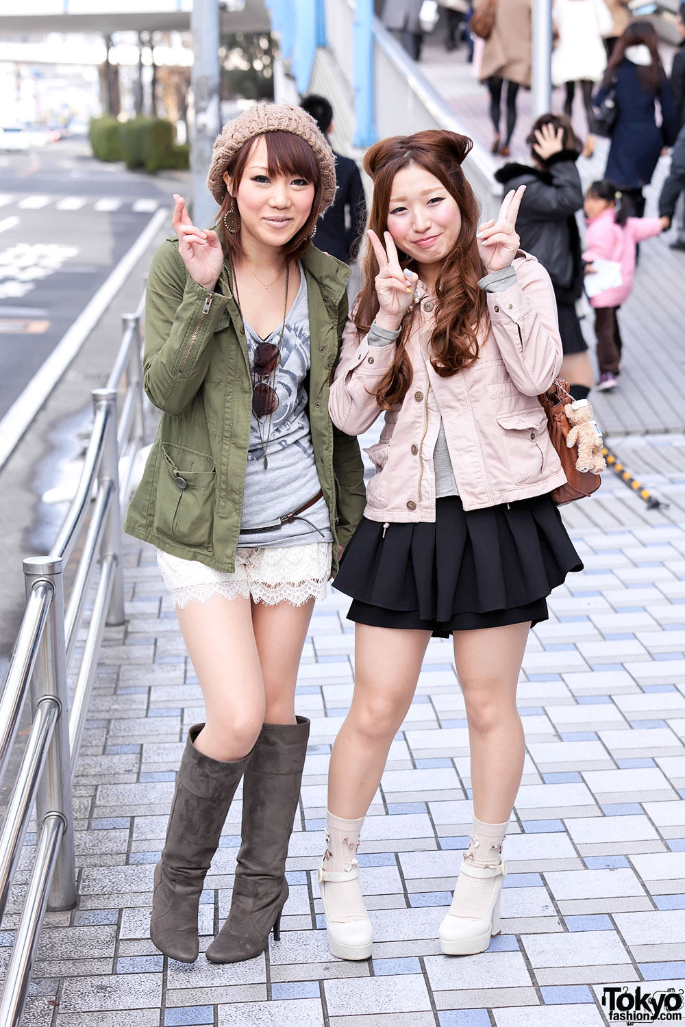 Japanese teens from tokyo