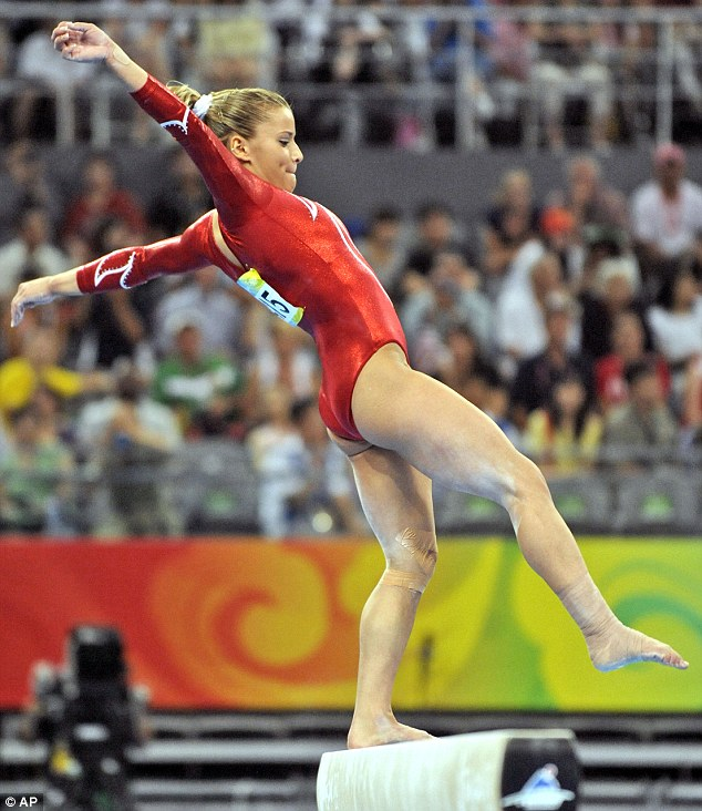Women gymnasts with big tits