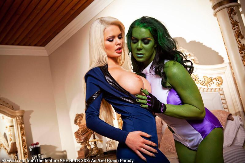 She hulk nude-xxx hot porn