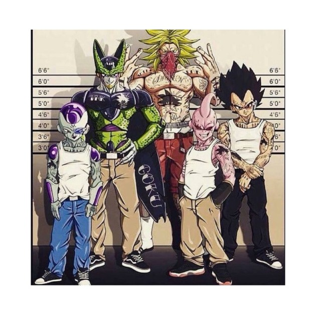 Dragon ball z villains