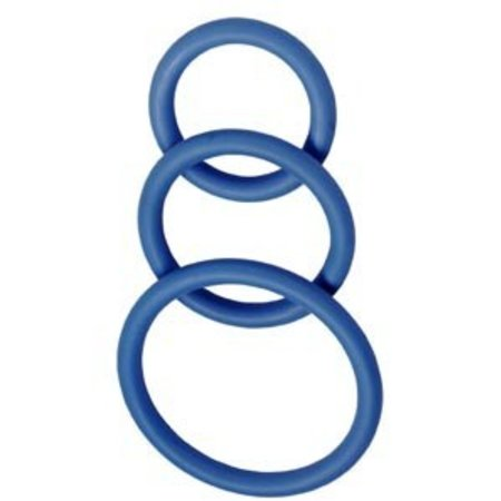 Spartacus nitrile blue cock ring