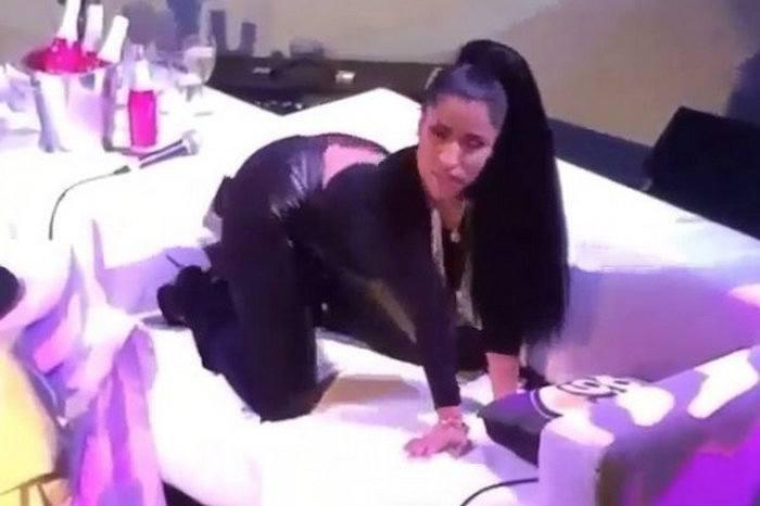 Nicki minaj twerking instagram