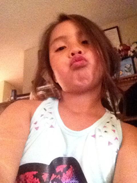 Too young girl selfies