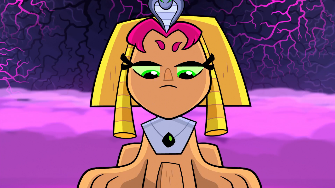 Teen titans go raven and starfire