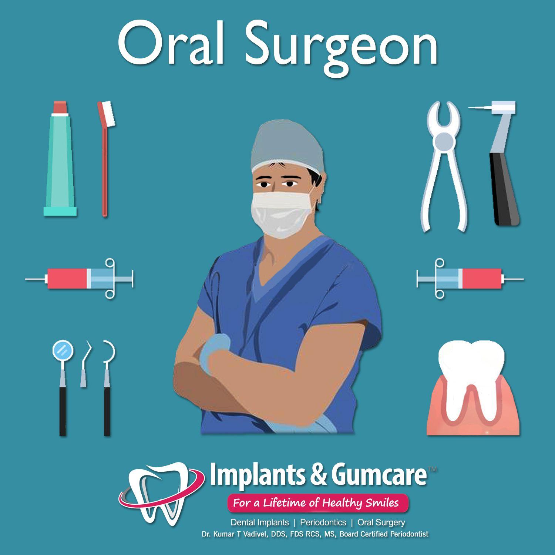 Oral surgeon job description