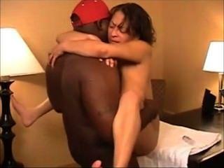 Light skin black girl hairy pussy