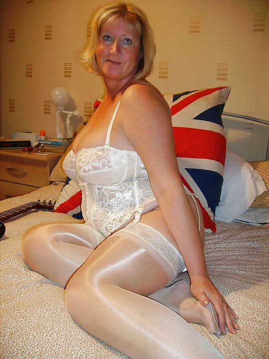 British grannies in lingerie