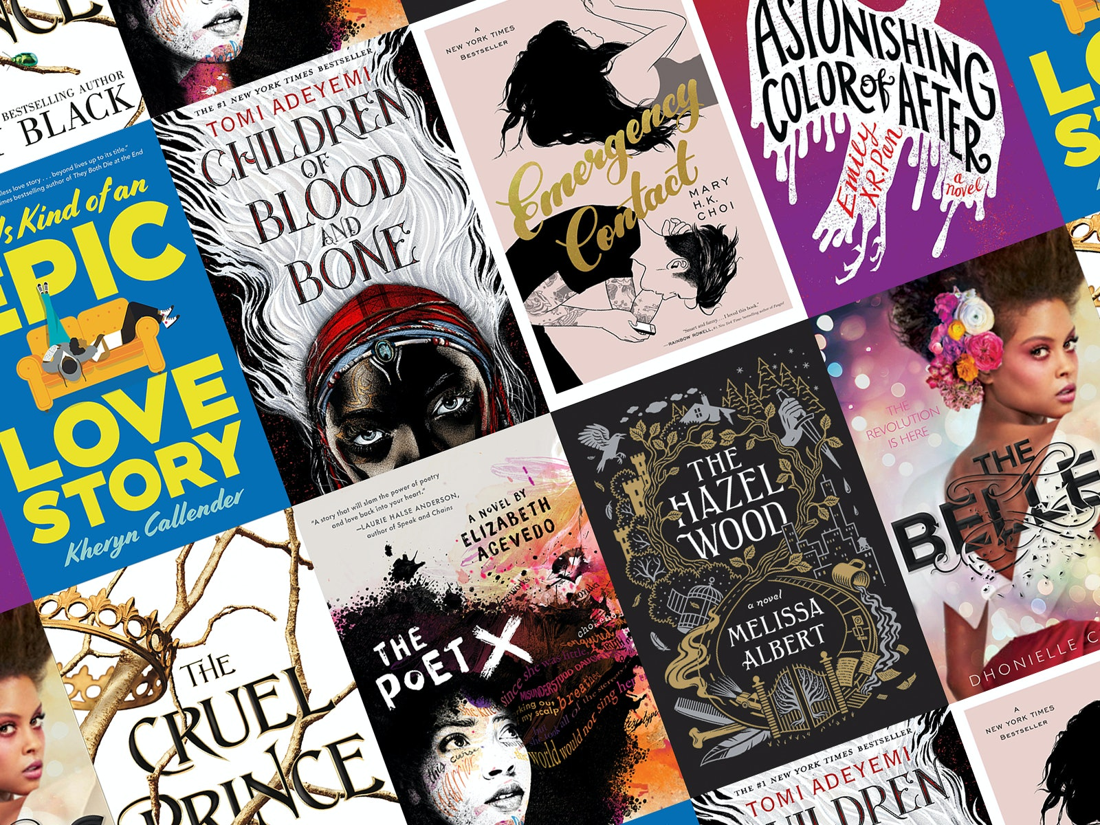 Popular young adult fiction books