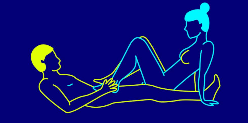 Foot fetish sex positions
