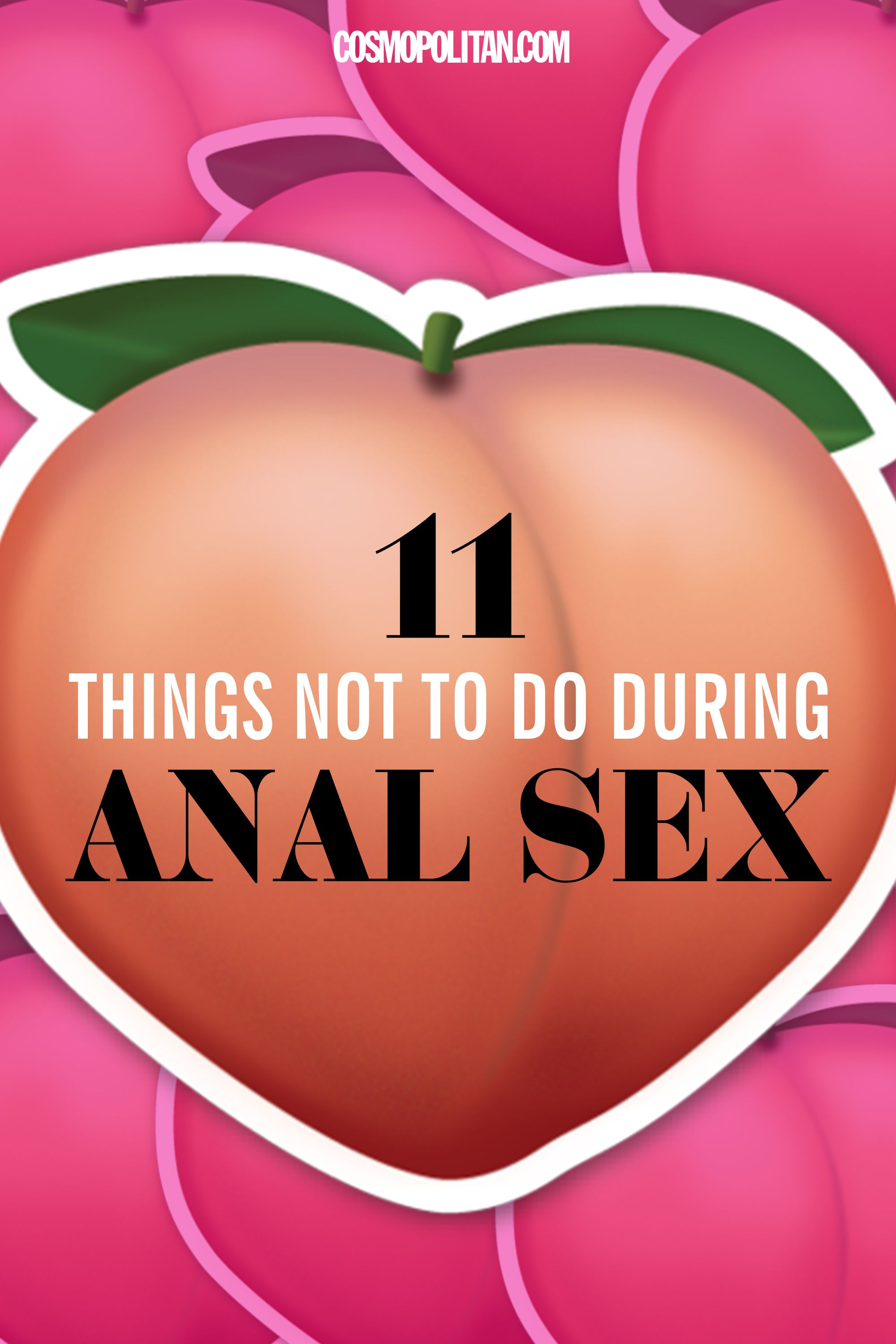 The dangers of anal sex