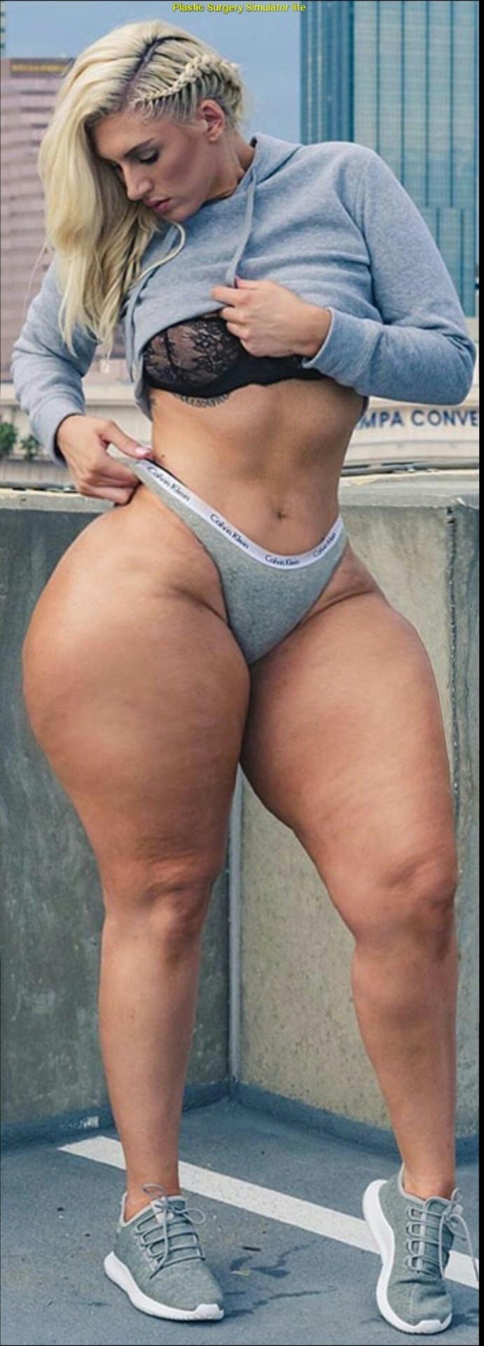 Thick wide hips big ass