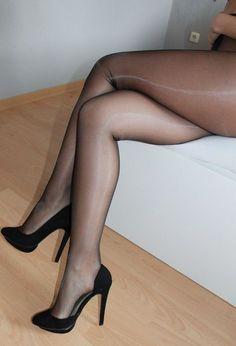 Pantie hose leg fetish sexy slut woman