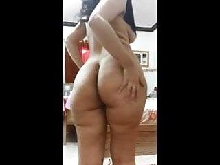 Curvy arab big ass