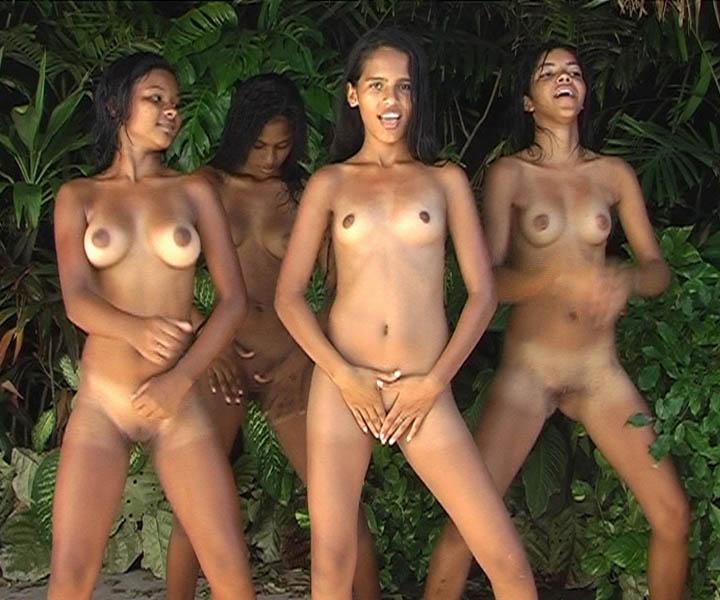 Nude ass junior club
