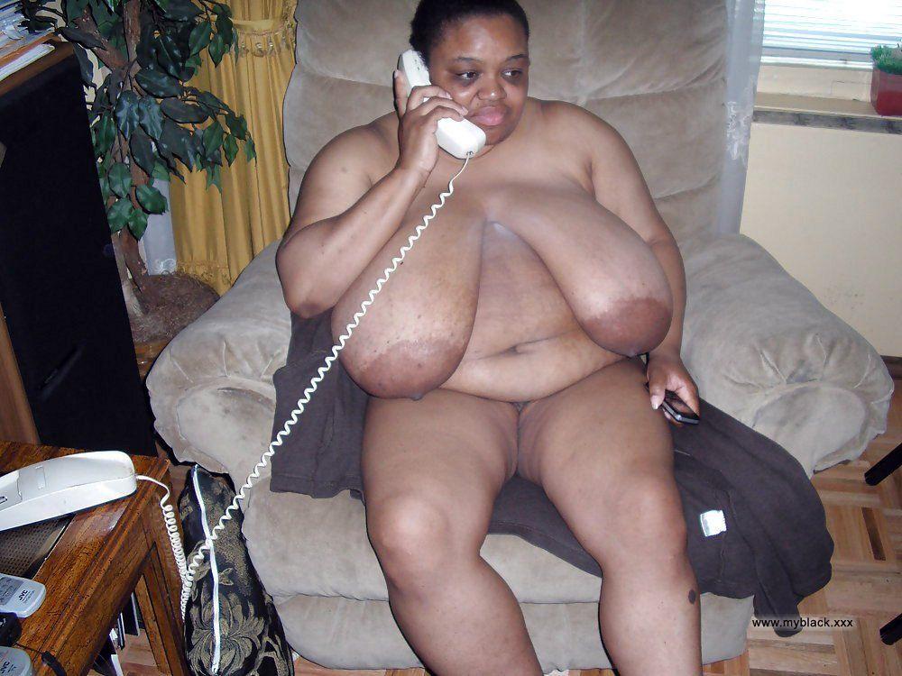 Naked fat black women