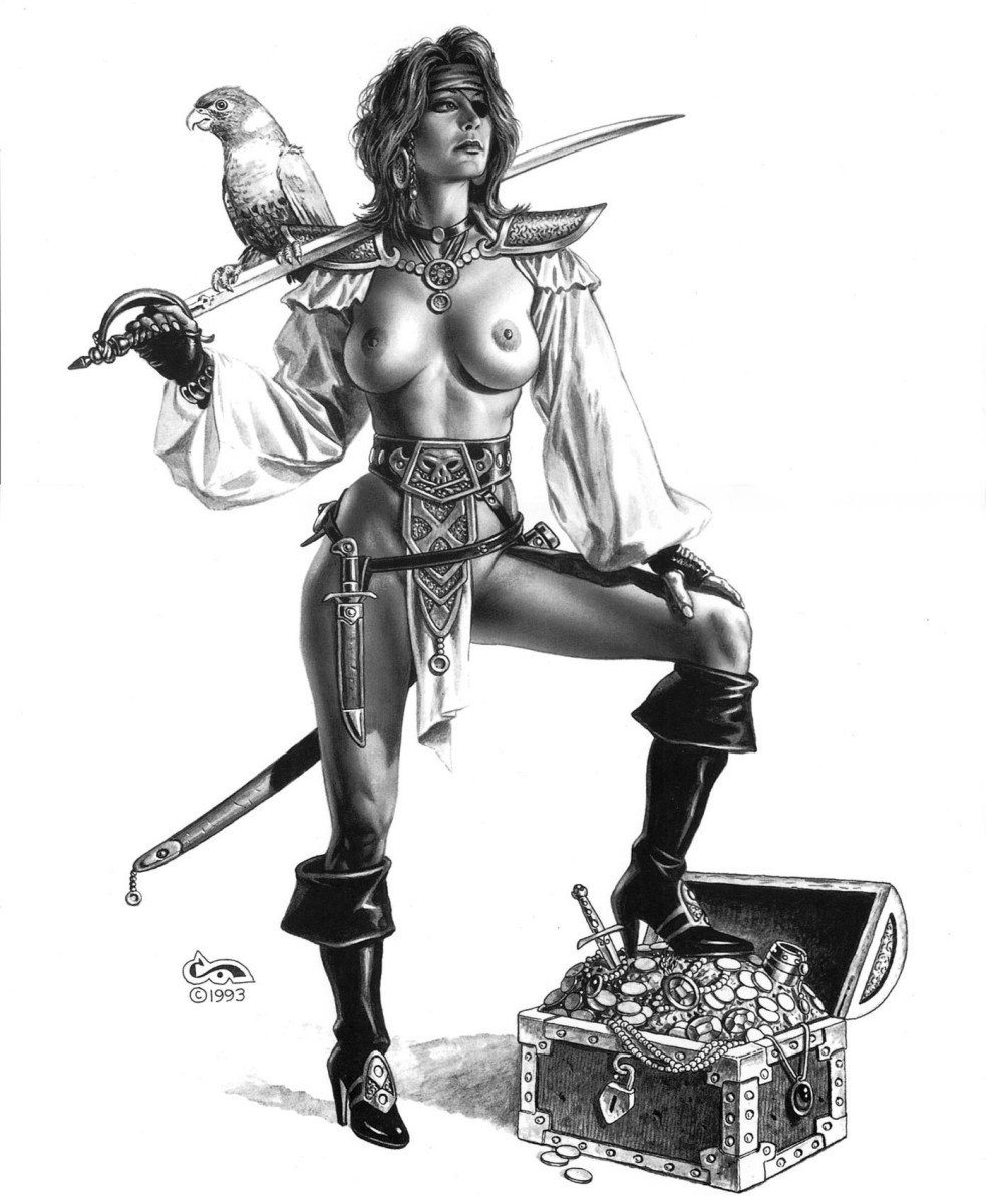 Pirate girl cartoon porn