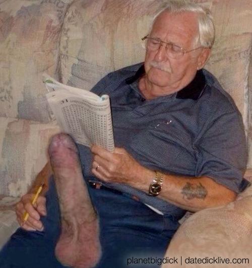 Porn old men dick