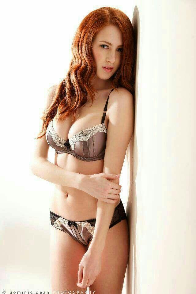 Redhead girls lingerie models
