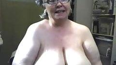 Big fat saggy granny tits