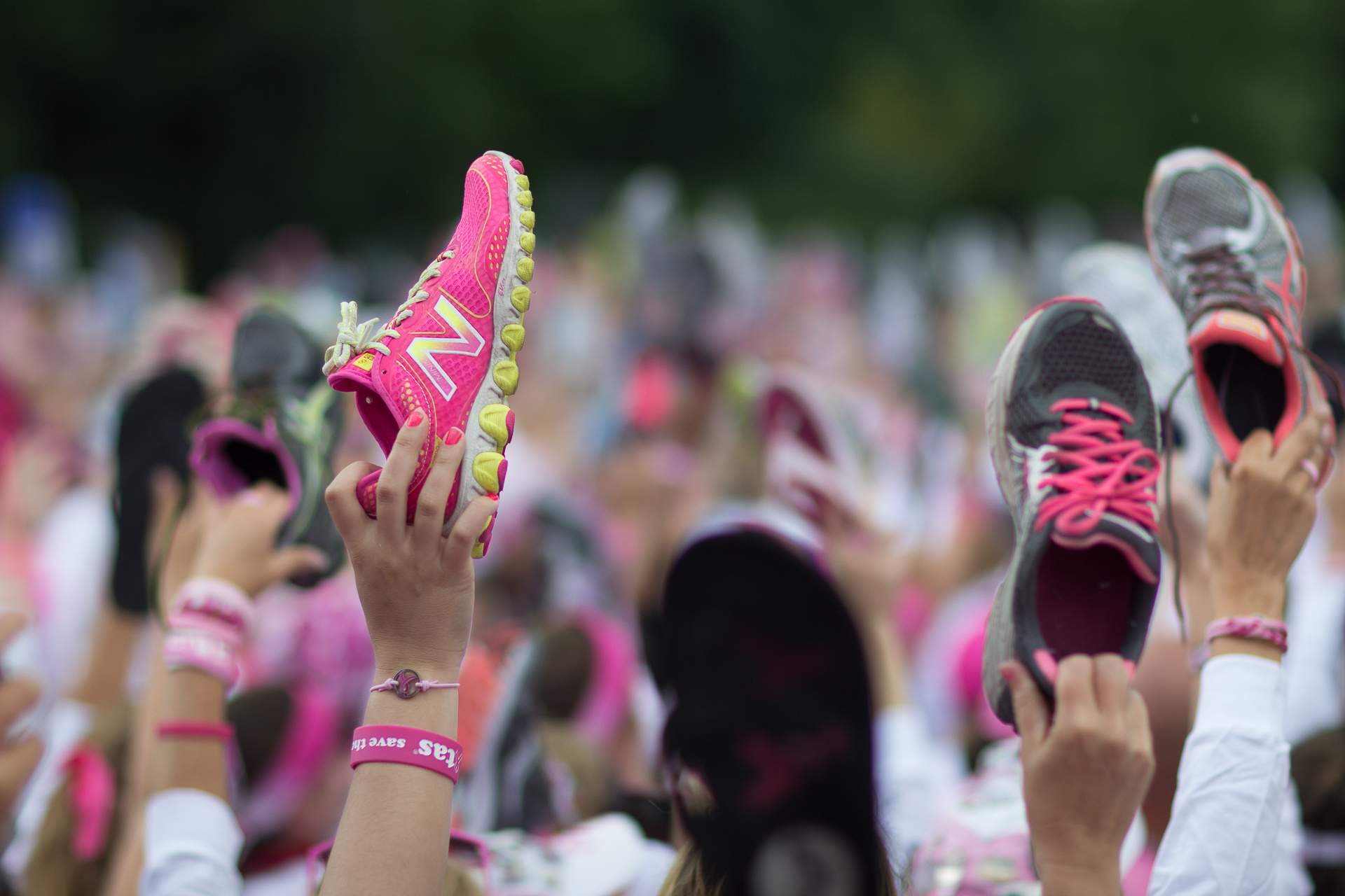 Three day breast walk