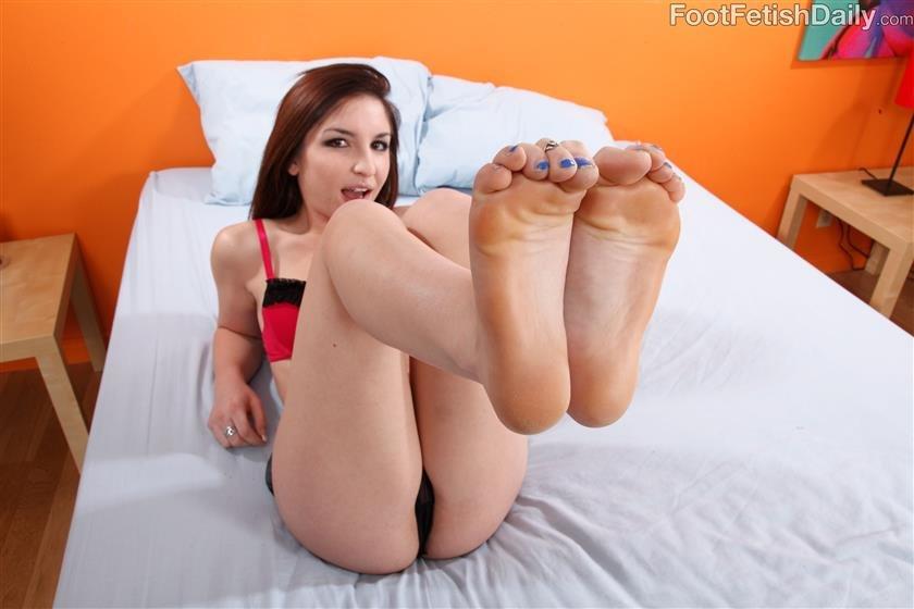 Foot fetish daily footjob