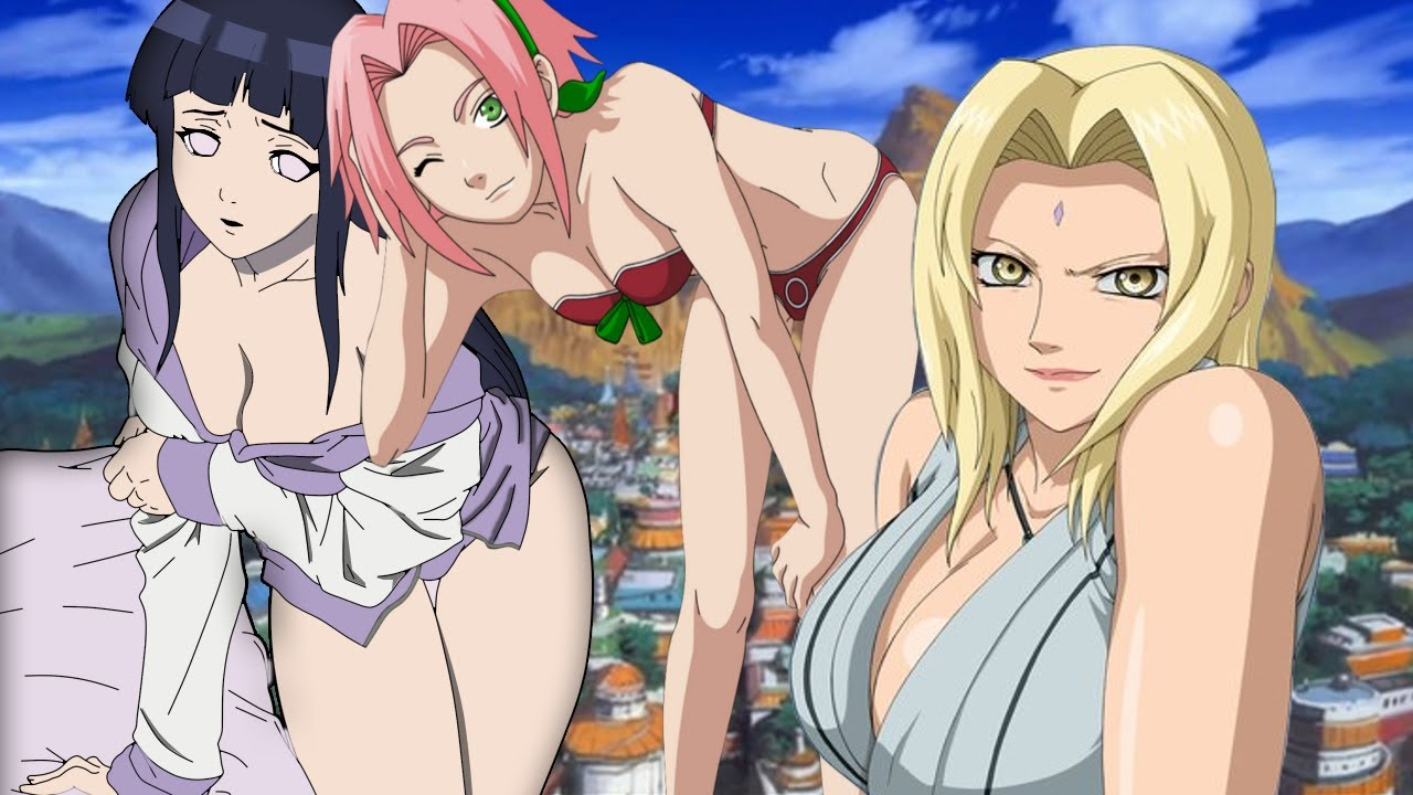 Naruto girl characters porn