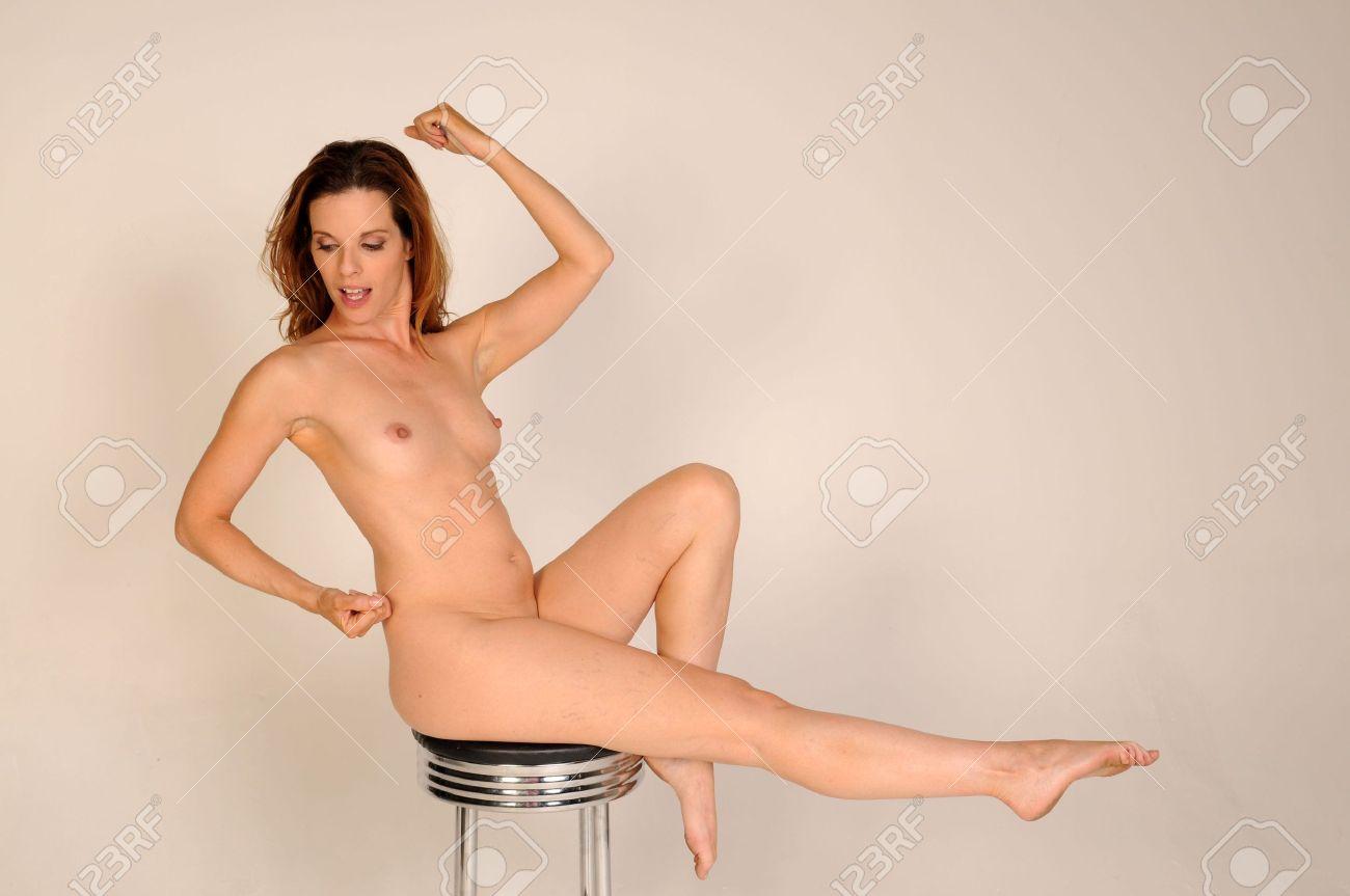 Beautiful nude matures posing
