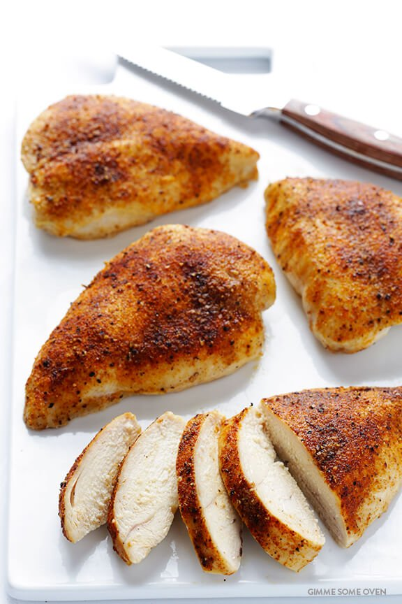 Broiled chicken recipe breasts