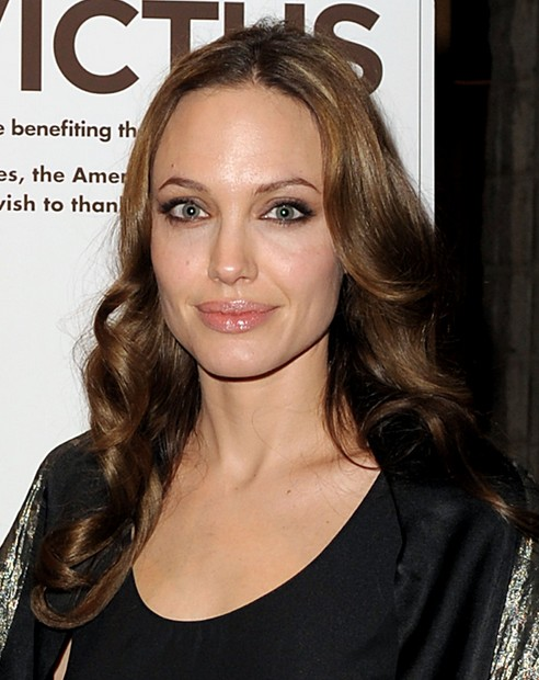 Angelina jolie long hair