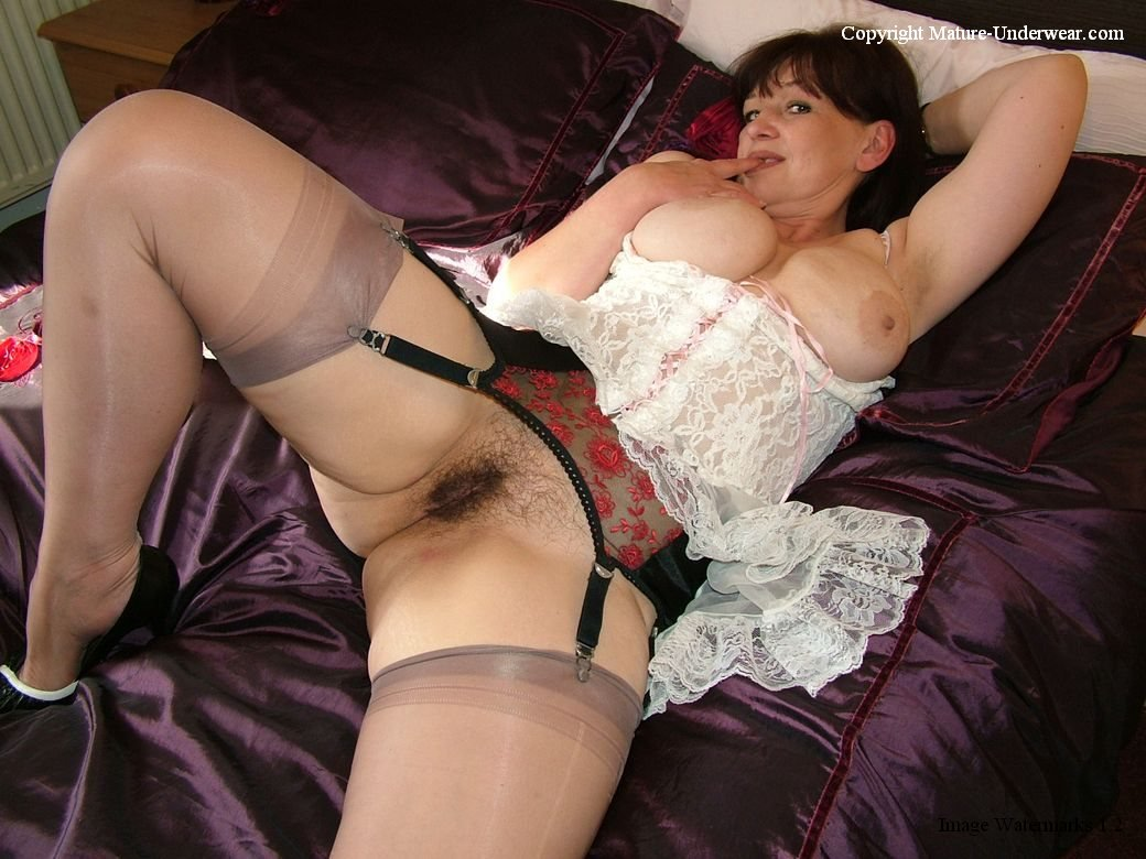 Stocking mature wife tumblr