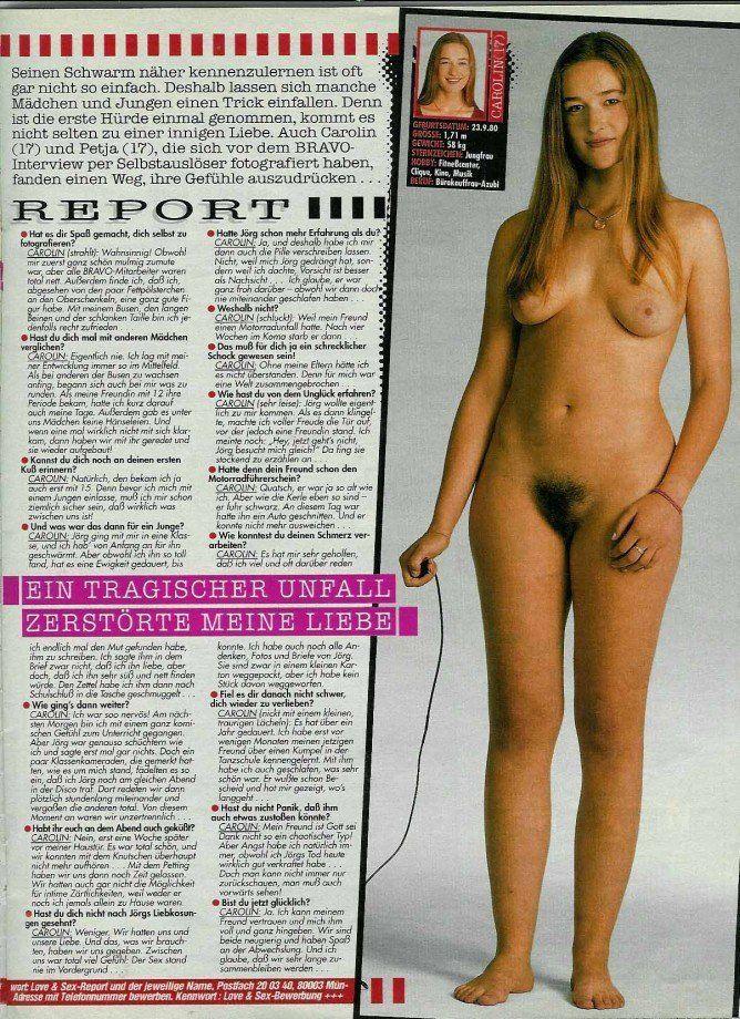 Bravo magazine boys nude