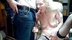70 year old granny anal