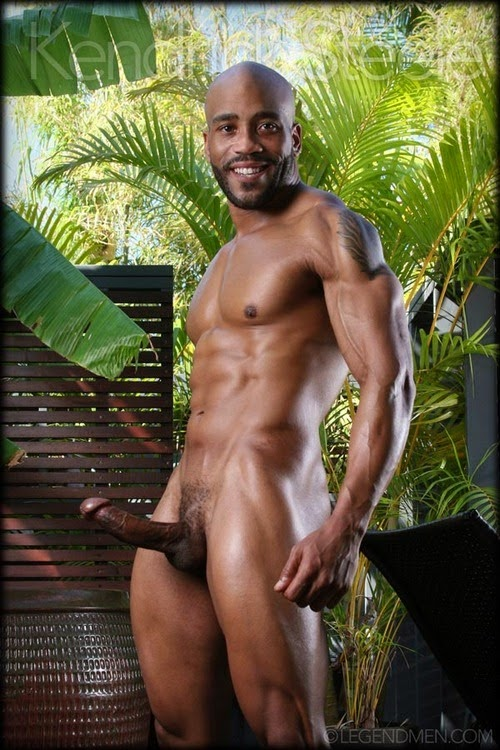 Black beautiful nude men