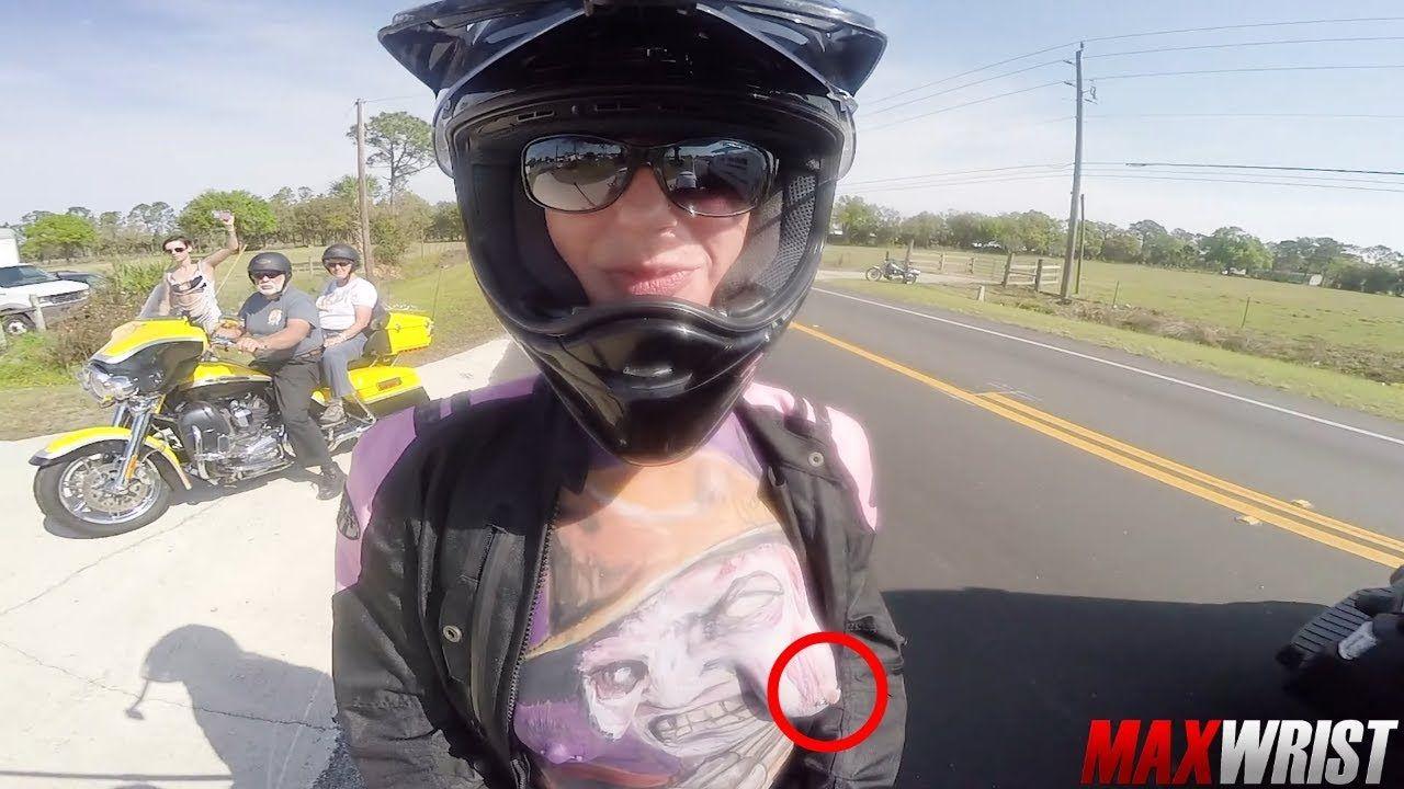 Daytona bike week boobs