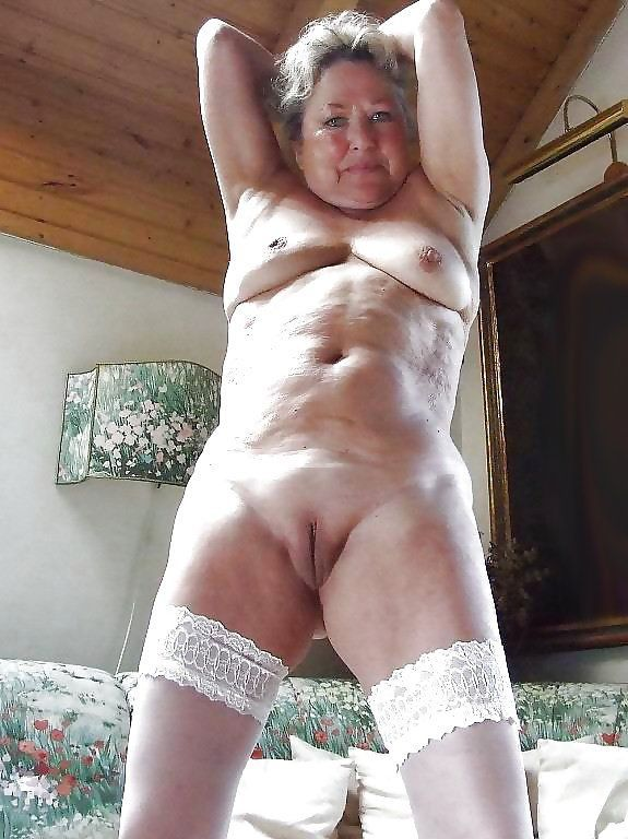 Granny naked The mature