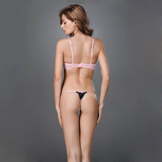 Cougar bra and panties