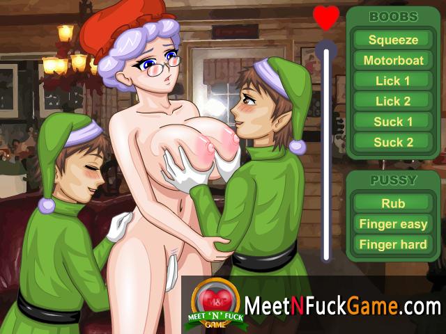 Mrs santa claus sex game