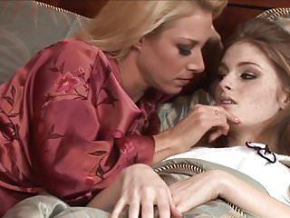 Dream blonde lesbian sex party