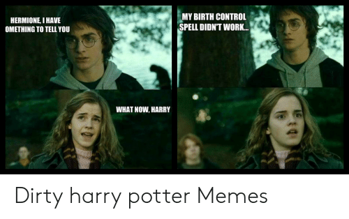 Harry potter and hermione memes
