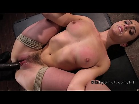 Bondage and tied up position