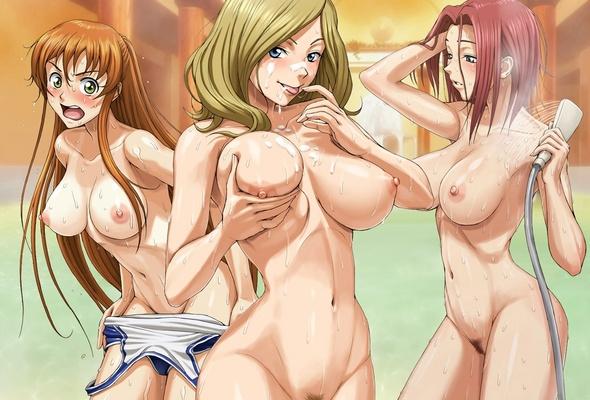 Anime girl sexy desnuda