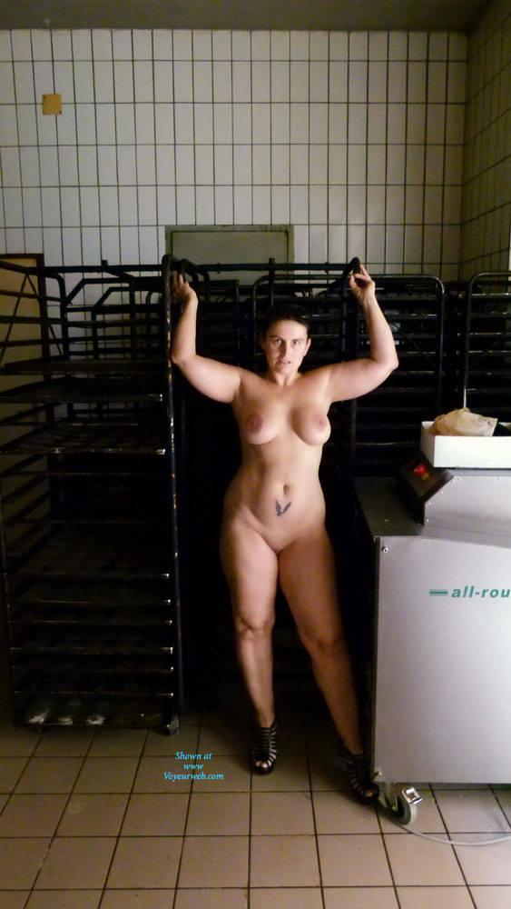 Girls working in nude