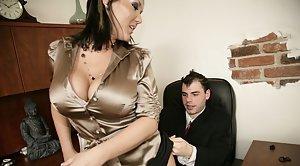 Mature wife bent over slut