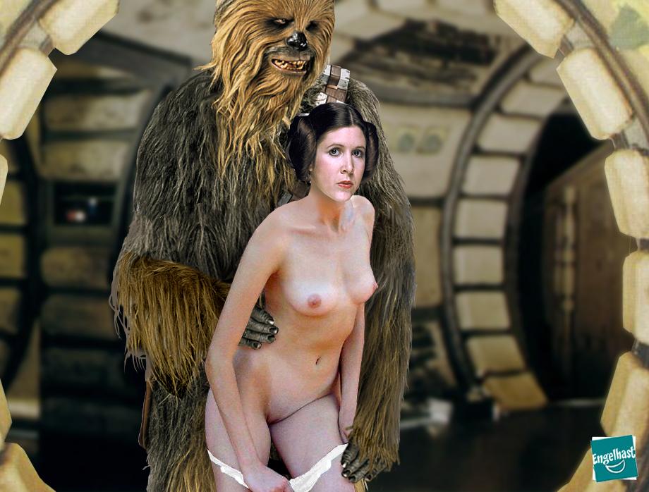 Chewbacca princess leia porn