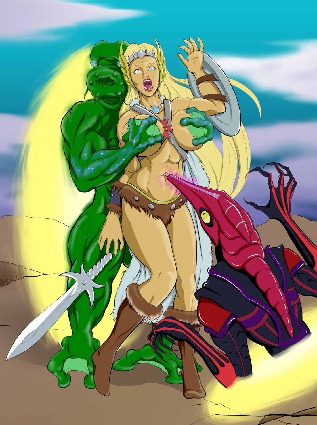Masters of the universe nude porn