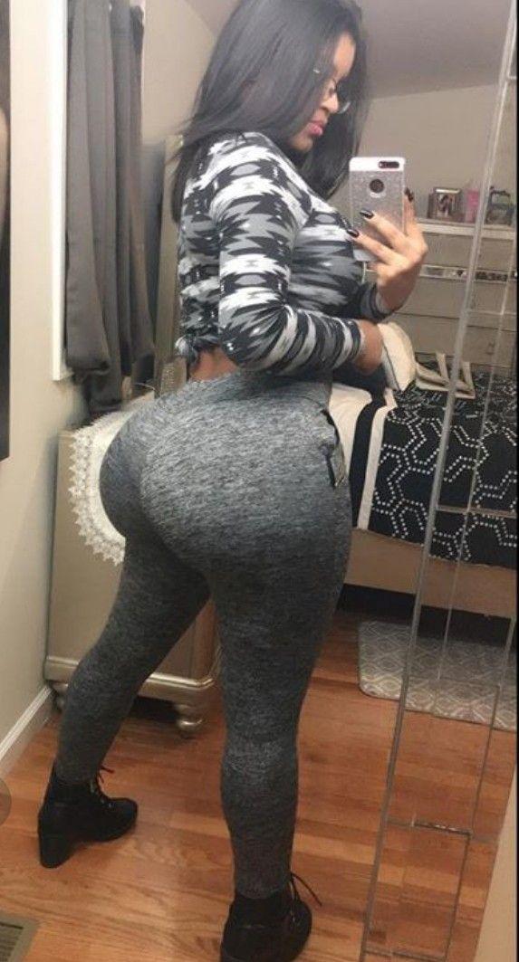 Thick thighs big ass self shot