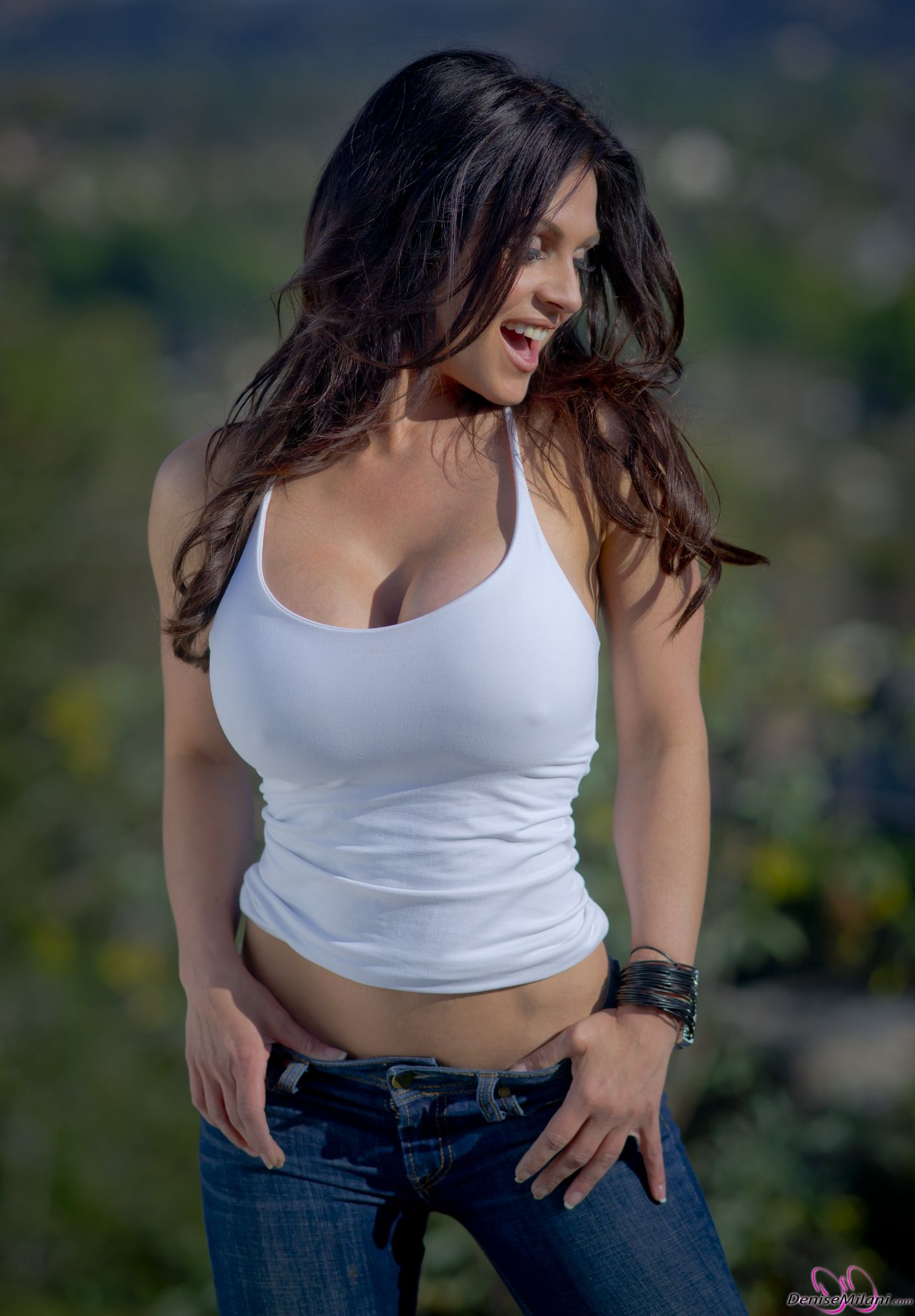 Denise milani country girl